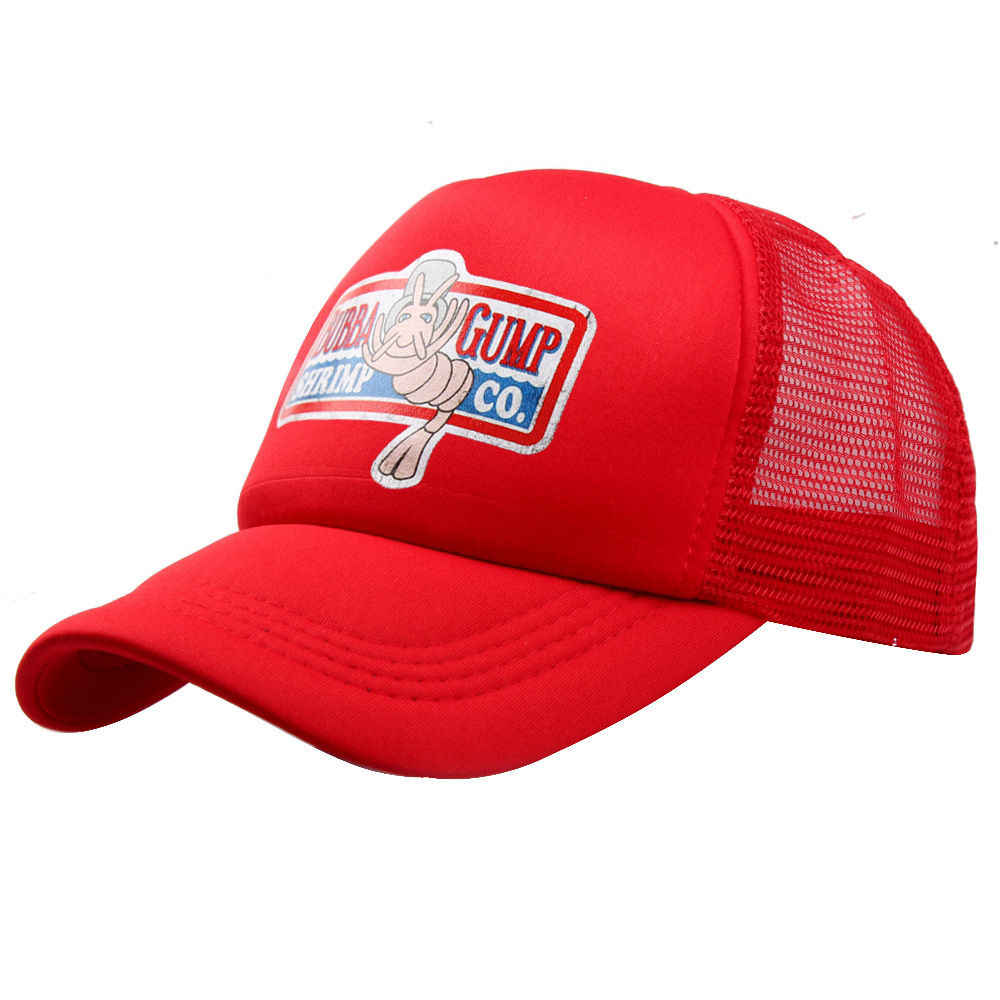 VORON 2017 جديد بوبا GUMP قبعة الروبيان المشارك شاحنة قبعة بيسبول الرجال النساء الصيف Snapback قبعة قبعة Forrest Gump قبعة
