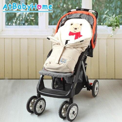 Envelope-For-Newborns-Waterproof-Baby-Sleeping-Bag-Winter-Baby-Sleepsack-For-Stroller-Cart-Blanket-Swaddle-Infant-Fleabag-3