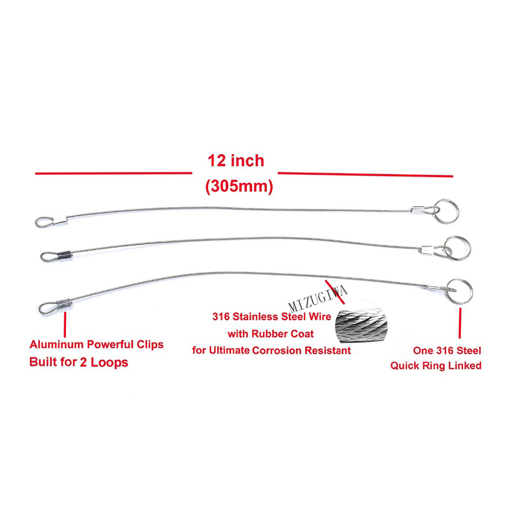 Aliexpress Com Buy Stainless Steel Lanyard Cable Tether