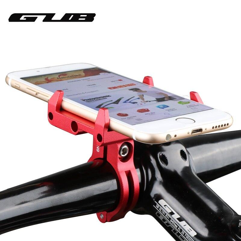 GUB G-85 G85 Ajustável Universal Suporte Do Telefone Da Bicicleta Para 3.5-6.2 polegada de Smartphones Bicicleta de Alumínio Guiador Mount Holder Bracket