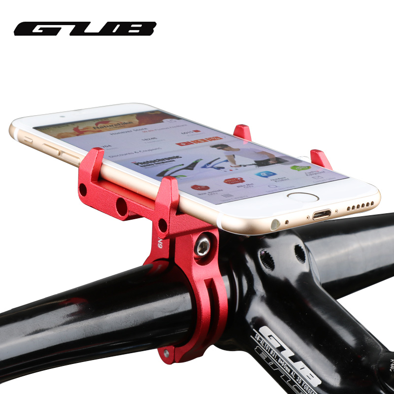 GUB G-85 Adjustable Universal Bike Phone Stand For 3.5-6.2inch Smartphone Aluminum Bicycle Handlebar Holder Mount Bracket