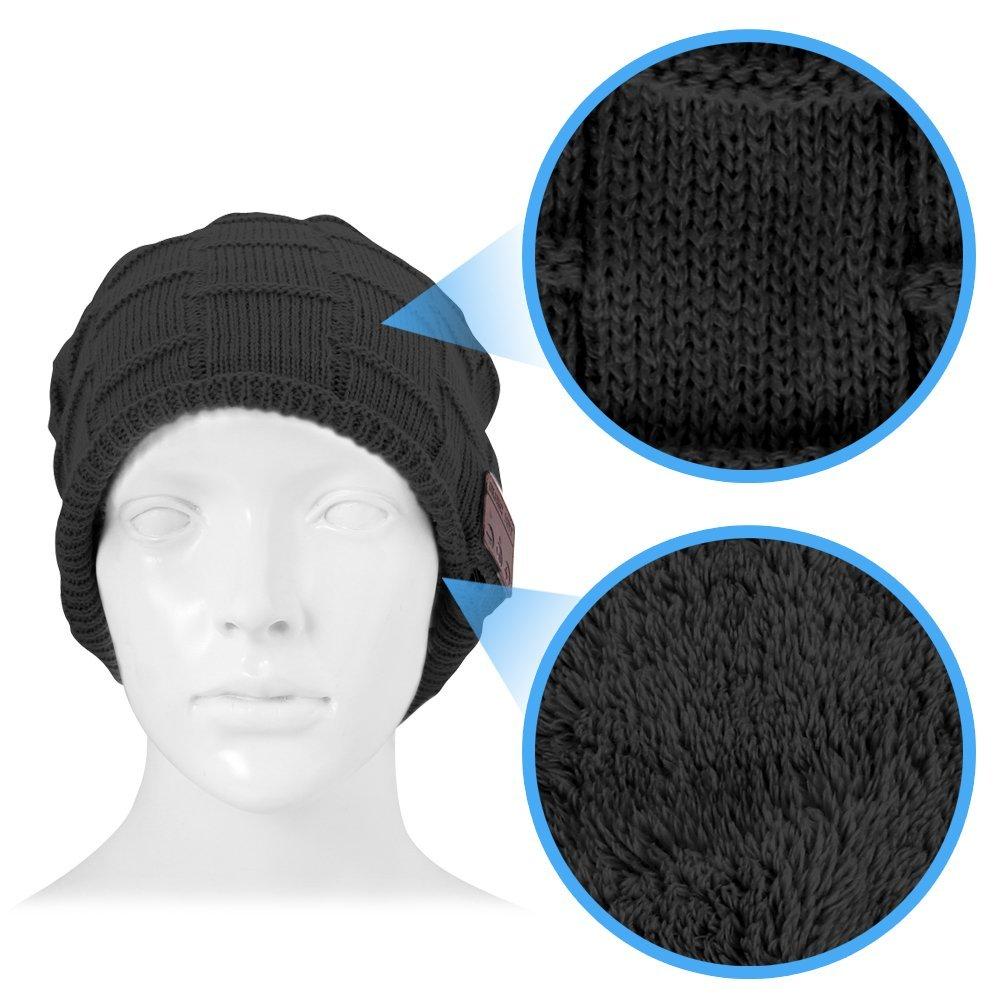 bonnet est à la fois chaud et super connecté
