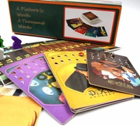 Cards Game Dixit 1 2 3 4 5 6 7 8 For Home Party English Russian