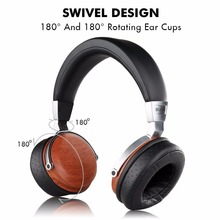 2018 New B7S BossHifi HiFi Music Wooden Headphones