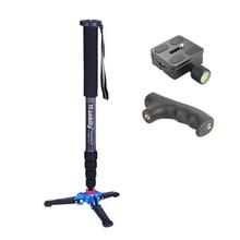 "Manbily C 333 Carbon Fiber Camera Monopod With M13 Legs Stand Base 3/8""screw Professional Mini Tripod For Canon Nikon DSLR Phone"