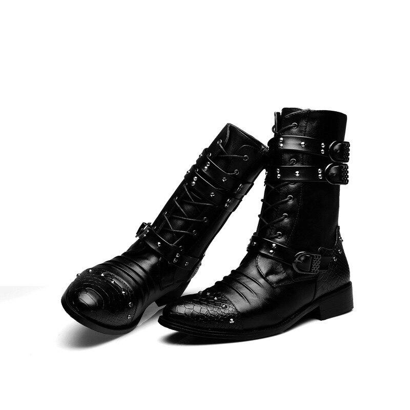 봄/겨울 모피 남성용 첼시 부츠, 신식 패션 부츠, 검은 색 부드러운 가죽, 캐주얼 신발 크기 38 44 eur의  그룹 1
