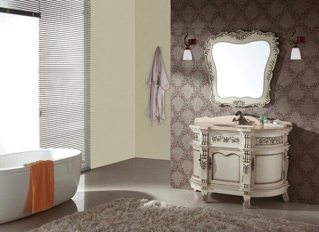 Euro stijl badkamer vanity luxe badkamer ijdelheid sets antieke