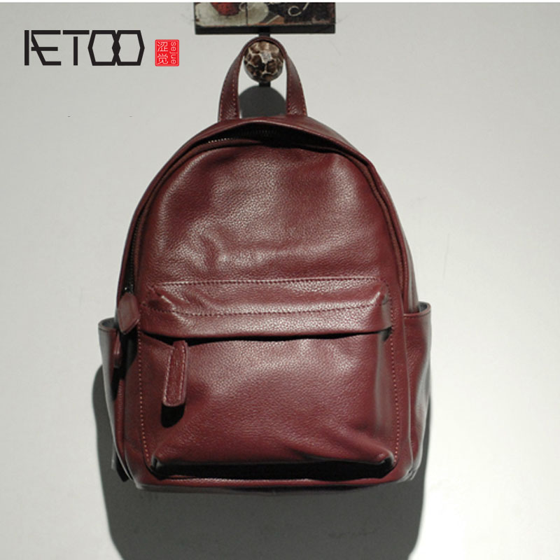AETOO  Import the first layer of leather leather ladies mini backpack new Korean style backpack виниловые пластинки joni mitchell ladies of the canyon
