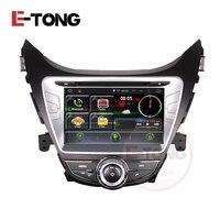 CAR ABDROID MULTIMEDIA DVD PLAYER GPS NAVIGATION HYUNDAI ELANTRA 2012 CAR QUAD CORE 1024 600 PURE