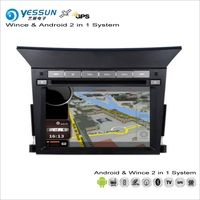 YESSUN For Honda Pilot 2009~2013 Car Android Navigation Radio CD DVD Navi Map Audio Stereo Video GPS Player Screen 2 in 1 System