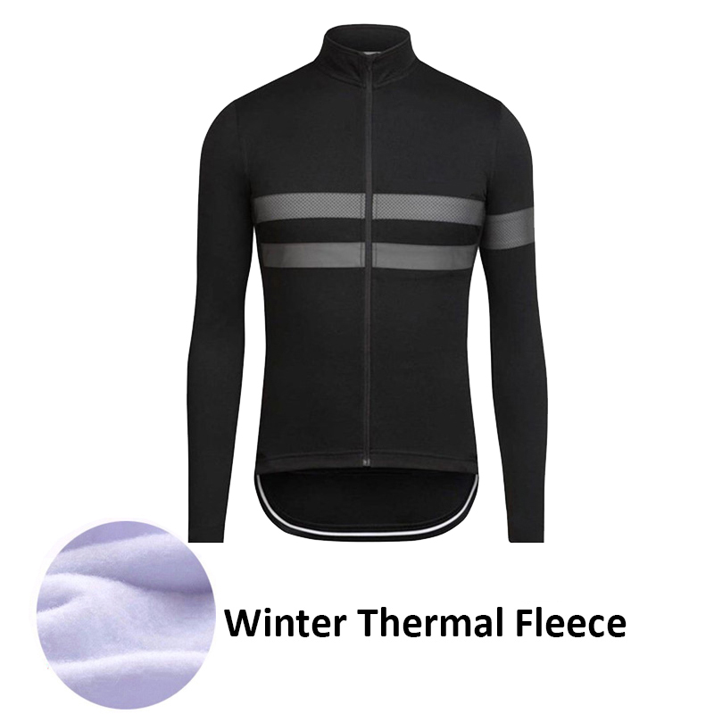 где купить 2017 New Men Pro Team Cycling Clothing Winter Cycling Jersey Long Sleeve Thermal Fleece Mountain Bike Jersey Bicycle Clothing дешево