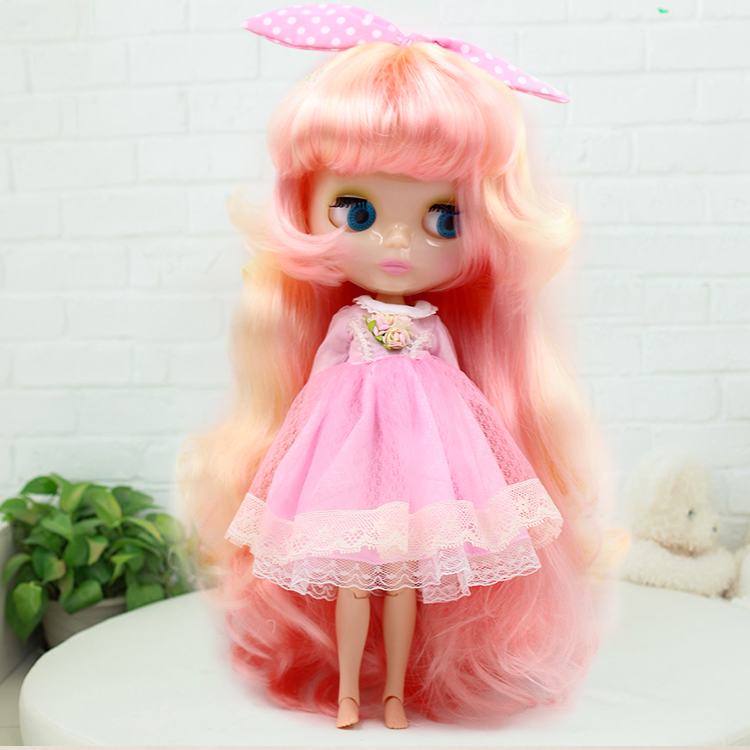 ФОТО Nude blyth doll with joint body baby toys for girls gifts