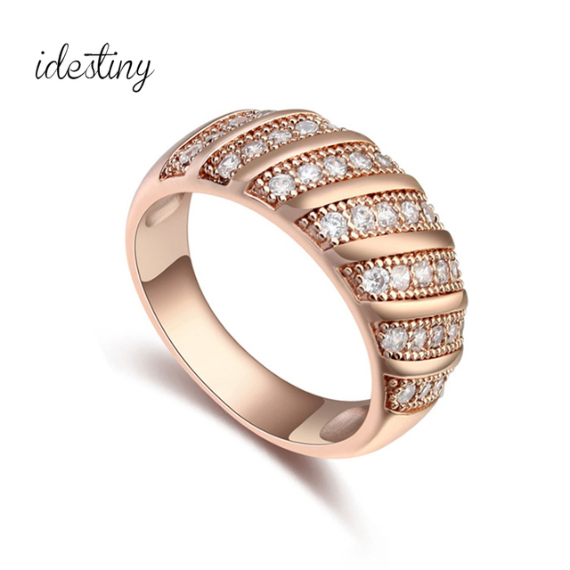 Top Quality Famous Brands Jewelry Accessories Women Gold Color