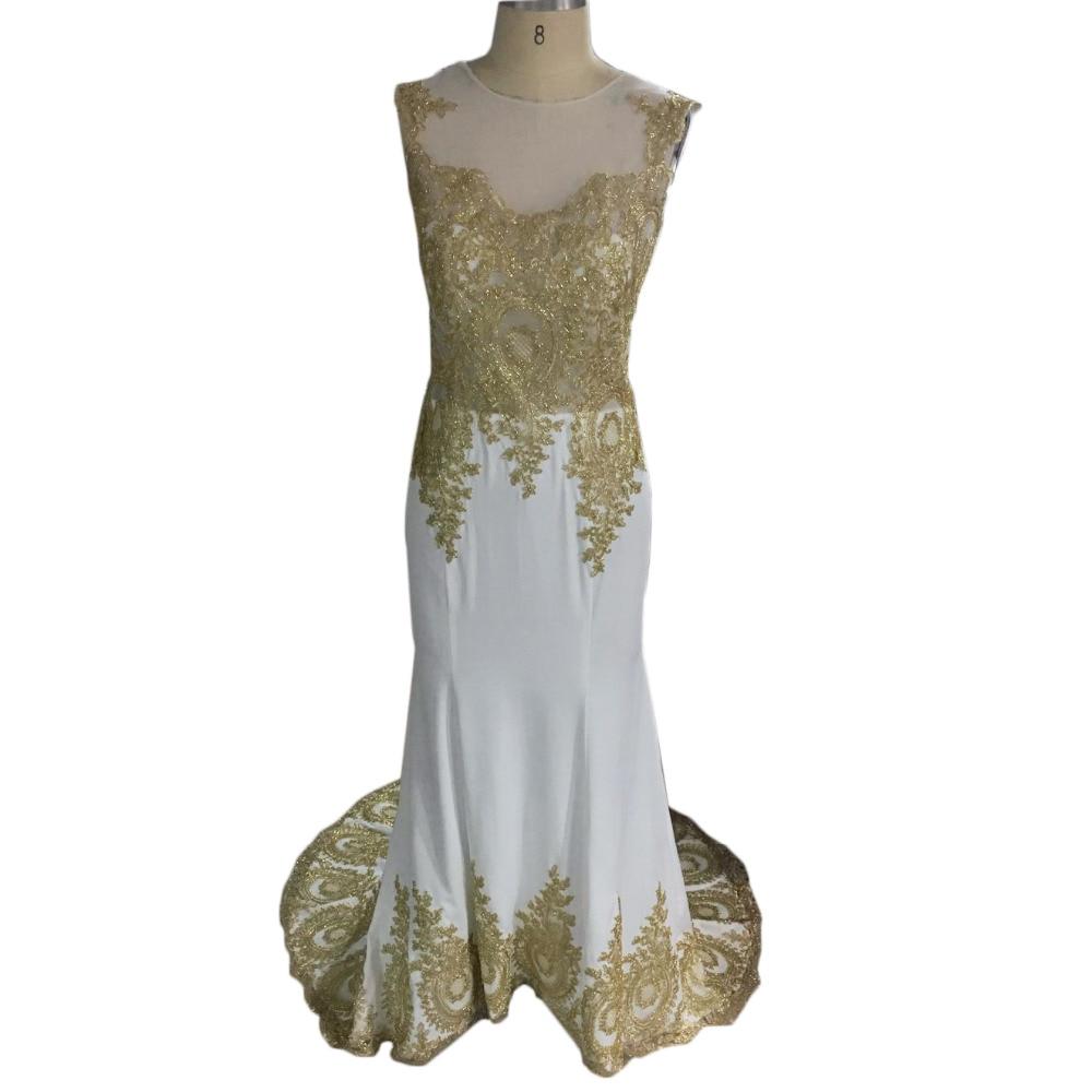 Meerjungfrau Prom kleider perlen Goldene Appliques Sexy Funkelnde Abend  Prom kleider Nach maß 2017 Frühling kleid in Meerjungfrau Prom kleider ...