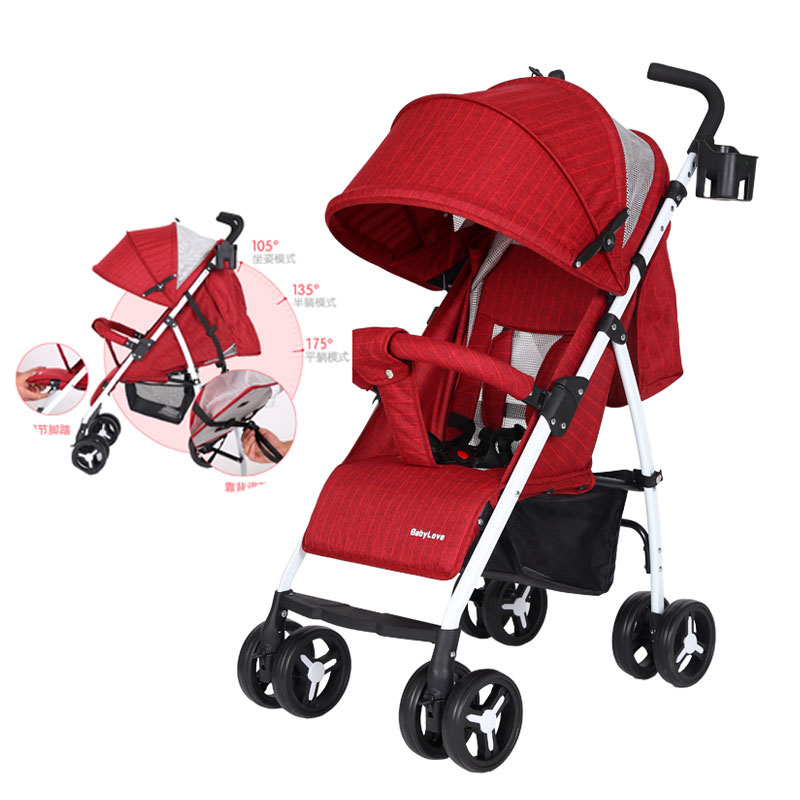 Four Season Portable Folding Baby Strollers Lightweight Umbrella Stroller Sunshade Travel System Baby Pushchair Buggy Pram 0~3Y qibest 23colors set brand makeup matte proof lipstick long lasting effect soft waterproof matte lipsticks lip easy to wear