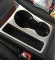 Sostenedor de Taza del coche decorativo marco de ajuste de la cubierta, tira 3D etiqueta engomada del emblema del Cromo del acero Inoxidable para Audi A5 A4 10-15