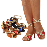 Mixed wholesale custom dance shoes Latin dance shoes factory Outlet 10PAIR / LOT Free to order colors and sizes Heel Women shoe