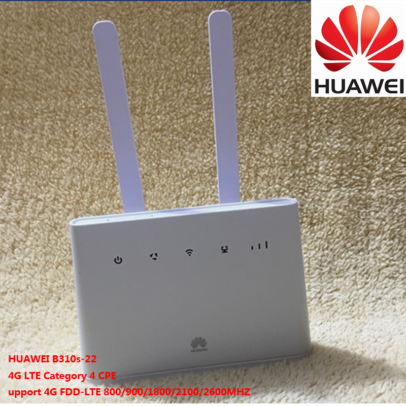 HUAWEI B310 B310s-22 150Mbps 4G CPE FDD wireless router with 4G antenna