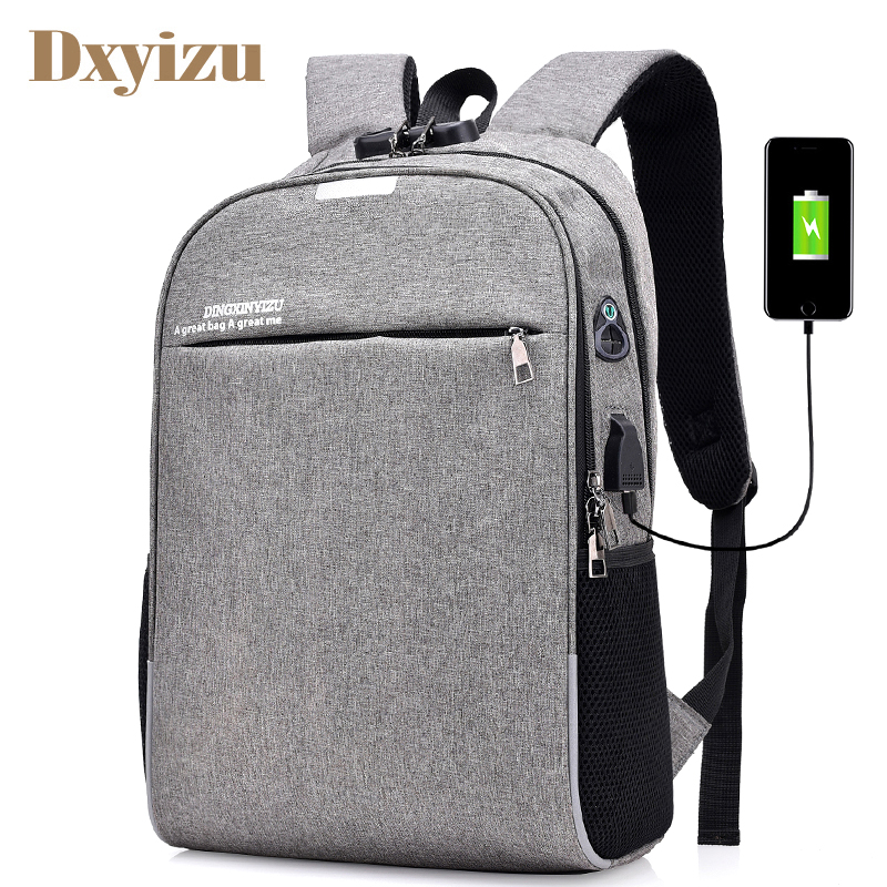 Coded Lock Backpack Casual USB Charging notebook Laptop Bags Anti Theft Men's School Bag Unisex Travel Large Capacity Backpacks for pc and mac nobletlocks ns20t xtrap notebook cable lock laptop lock 6feet