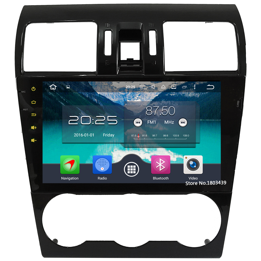 9 WiFi 4G Octa Core 4GB RAM Android 6.0 DAB+ 32GB ROM Car DVD Multimedia Player Radio For Subaru Forester XV WRX 2014-2016 8 octa core android 6 0 4gb ram 32gb rom 4g wifi dab car dvd multimedia radio gps player for kia ceed 2013 2014 2015 2016 2017