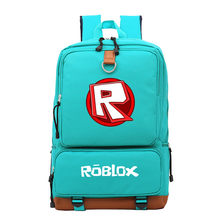 Game Roblox Student School Bag Men Travel Shoulder Laptop Bag Kids Boys Girls Casual Notebook Backpack Action Toys Children Gift(China)
