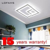 LOFAHS Modern High Brightness LED Ceiling Chandelier For Bedroom Premises Renovation Luxury Bed Room Chandelier Lighting