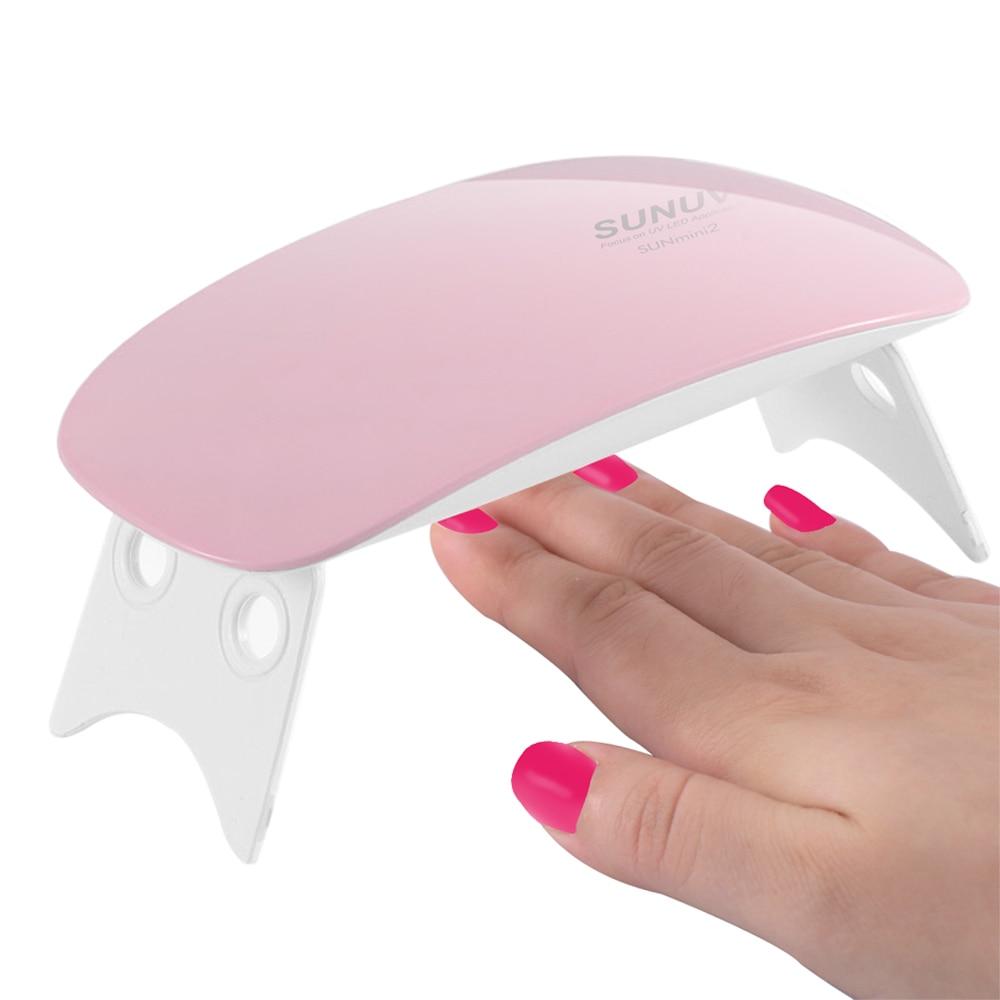 SUNUV SUNmini UV Nagel Lampe LED Licht Portable Mini UV-LED Nageltrockner für Gel Lack Nägel Nagelkunstwerkzeuge