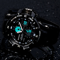 Epozz Clock Male Swimming 2016 Fashion Digital Analog Display Men Sport Wristwatches G Style Rubber Strap Relogio Masculino