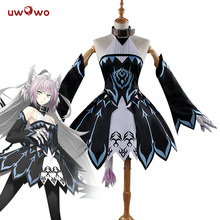 UWOWO Anime Fate Grand Order Atalanta Archer Cosplay Costume Dress Uniform Outfit Anime Game Women Costume стоимость