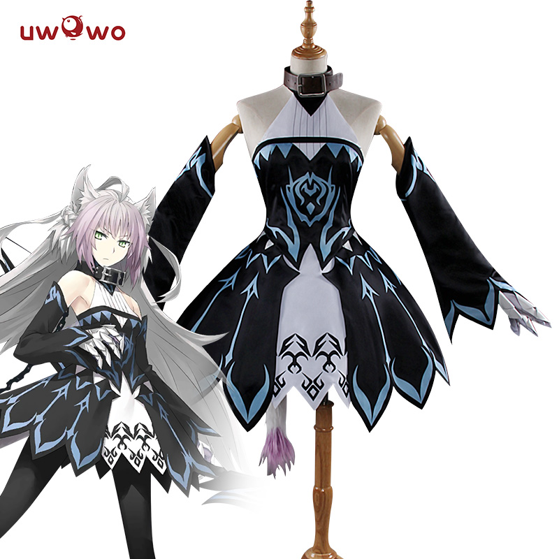 UWOWO Anime Fate Grand Order Atalanta Archer Cosplay Costume Dress Uniform Outfit Anime Game Women Costume