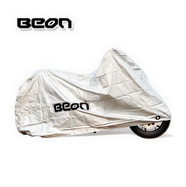 BEON anti-hot sun dust motorcycle sewing electric bike cover scooter motocross motorbike covers silver of PVC size M L XL XXL