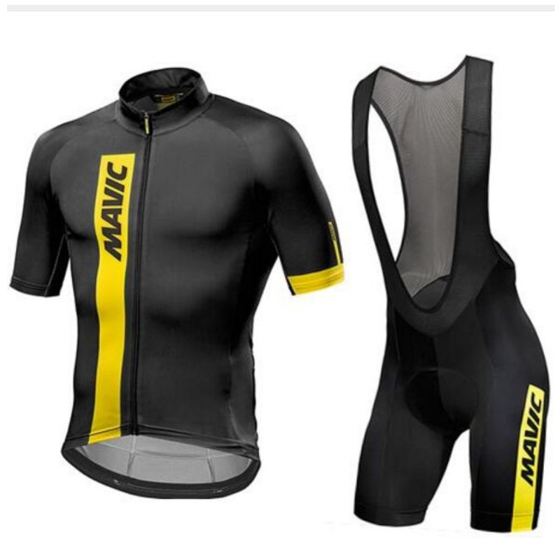 2018 Mavic Quick Dry Short Sleeve Cycling Clothing Breathable Bike Riding Wear Ropa Ciclismo Bicycle Jersey 9D Gel Pad
