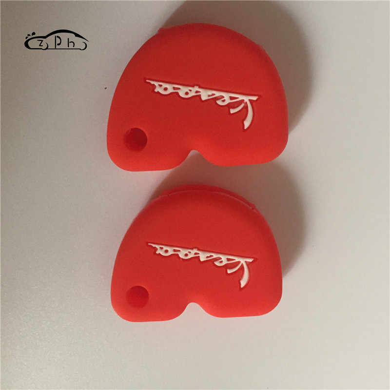 Nieuwe Styling Siliconen Rubber Key Case Cover Voor Vespa Enrico Piaggio GTS300 LX150 Fly 125 3vte Gts 200 Motorfiets Sleutel gratis Schip