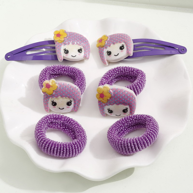 Hair Pins Sets New Baby Kids Hair Clip Cartoon Children Elastic Hair Band Hair Tool Jewelry Accessories Hair Jewelry