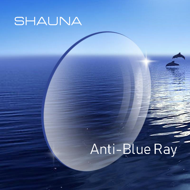 SHAUNA 1.56 1.61 1.67 1.74 Prescription CR-39 Resin Aspheric Glasses Lenses Myopia Hyperopia Presbyopia Optical Lens