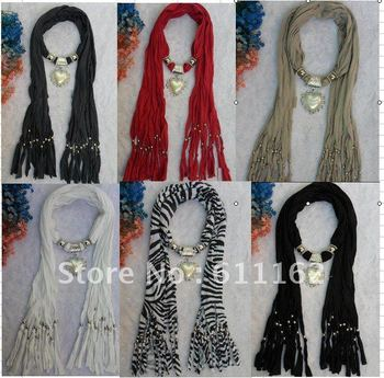 2018 Fashion heart Pendant necklace scarves womens scarves shawls novel scarves cotton pashmina scarves 164 фото