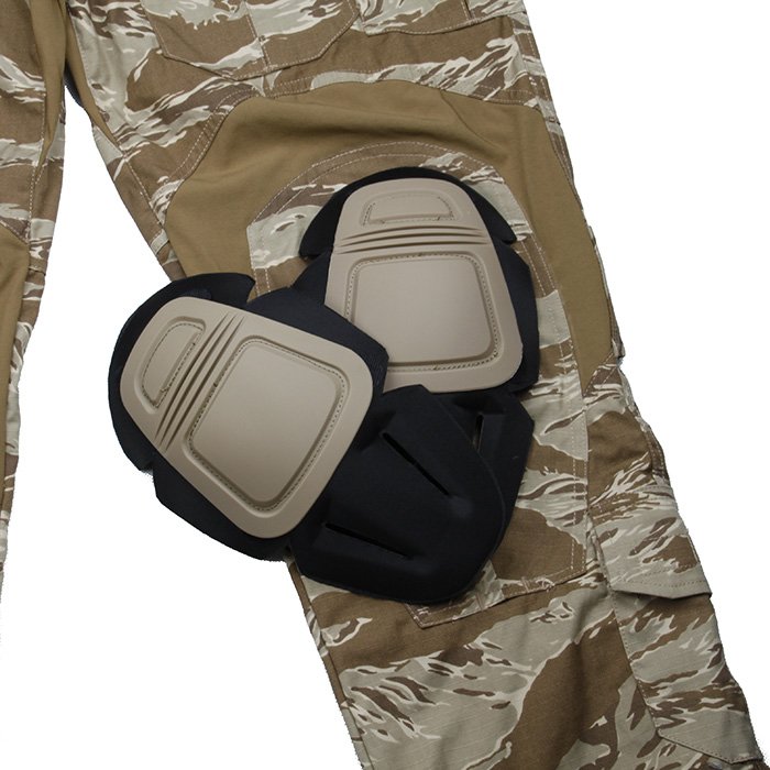 TMC Desert Tiger Stripe Pattern G2 Combat Pants With Knee Pad Set US Original Cutting Size
