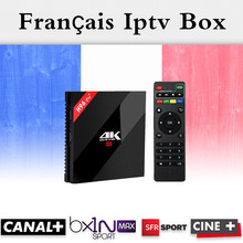 Français IPTV H96 Pro + Belgique Pays-Bas Luxembourg Europe IPTV IPTV S912 Octa base 3G RAM 32G GB ROM Android 6.0 TV Box