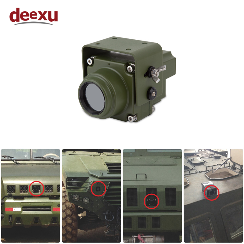 Hd Infrared Thermal Imaging Camera Off Road Vehicle