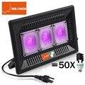Lámpara UV Led a prueba de agua 365nm 395nm ultravioleta Detector de Metal de cura Subzero de cuarzo negro luz linterna germicida desinfección