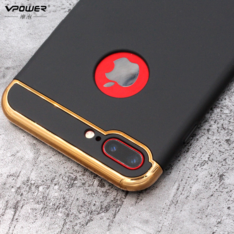 Vpower Plating Case para iphone 7/7 plus iphone 8 Funda Luxury Ultra - Accesorios y repuestos para celulares - foto 2