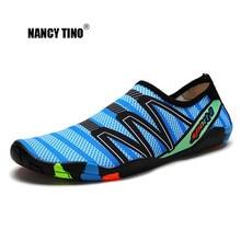 NANCY TINO Outdoor Men Women Sports Beach Aqua Shoes Swimming Water Adult Unisex Flat Soft Super Light Sneaker