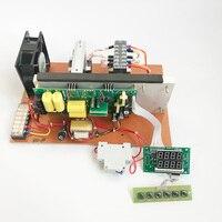 1000 W limpeza ultra sônica pcb placa de motorista  freqüência khz 20/25 khz/28 khz/30 khz/33 khz/40 khz Ajustável|Peças p/ limpador ultrassônico| |  -