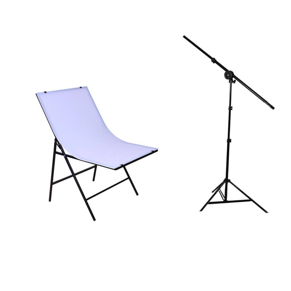50 x 70cm Flash Softbox Lightbox 2pcs Light Stand Photography Lighting Kit Shooting Table for Photo Studio Diffuser Portrait 50 70cm softbox continuous photo studio lighting 4 in 1 socket e27 light lamp holder with 2pcs light stand photography kit