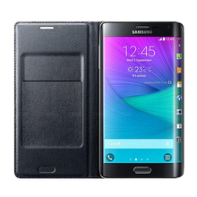 купить Flip Leather Back Cover Housing Case For Samsung Galaxy Note Edge N9150 N 9150 Stand Leather Case Wallet with Credit Card Holder дешево