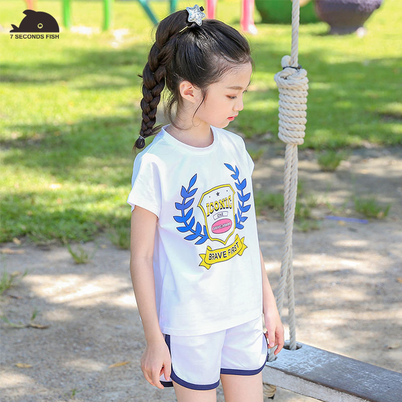 girls Clothing Sets 2018 New Summer Clothing Sets Kids Clothes Unicorn Printed T-Shirt+Pants 2Pcs Suit For 3-12 Years sport suit girls in pants third summer