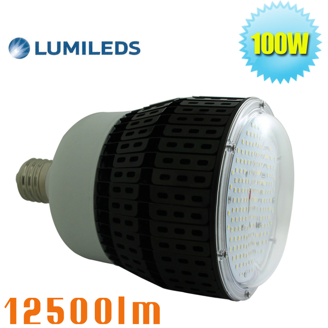 100w Led Retrofit Warehouse High Bay Light Fixture 400 Watt Metal Halide Replacement E39 E40