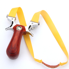 Powerful slingshot Stainless Steel Catapult 5 Aiming with Flat Rubber Band Outdoor Shooting slingshots for Hunting New