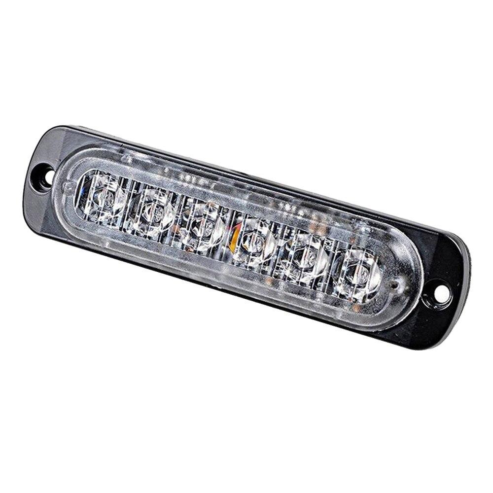 12-24 V 18 W Mini 6LED luz de trabajo Bar lámpara de conducción barco camión Ultra delgado de lámpara de Flash de advertencia lámpara 2M 1M 7mm Cámara endoscópica Flexible IP67 impermeable inspección boroscopio cámara para Android PC Notebook 6 ledes ajustable