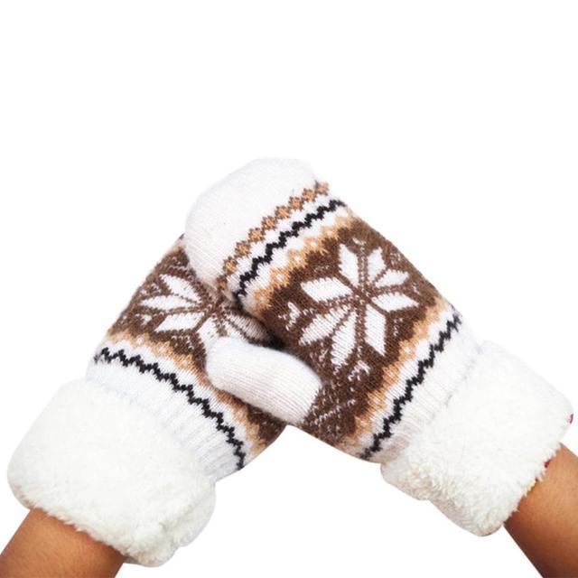 Muqgew Для женщин теплые зимние Прихватки для мангала варежки теплые шерстяные варежки Женская мода сенсорный Прихватки для мангала